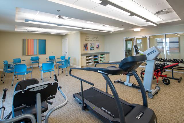 Jensen Dunes gym