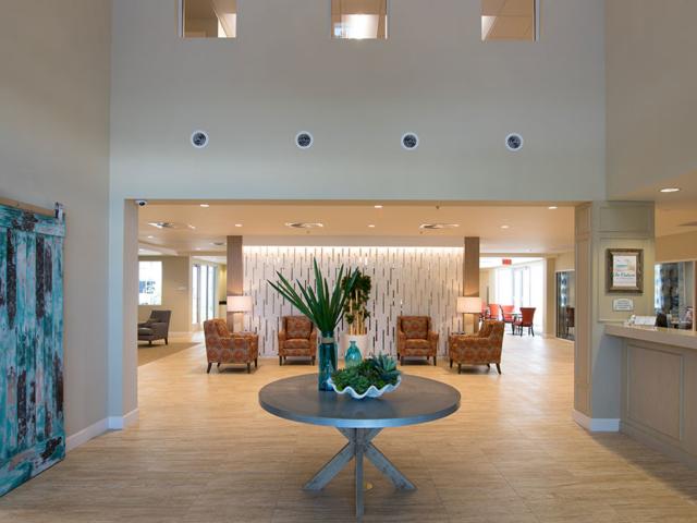Jensen Dunes lobby