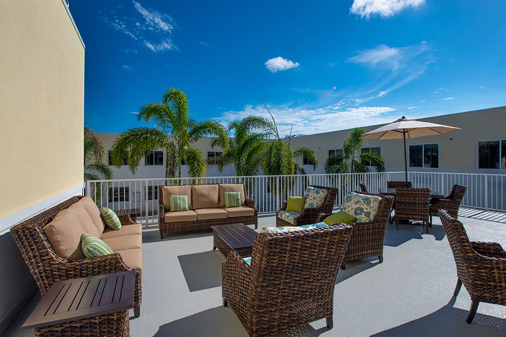 Jensen Dunes patio