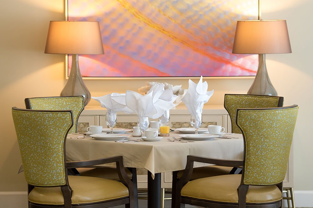 Jensen Dunes private dining