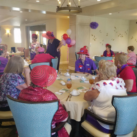 March 2017 Red Hat Society Brunch
