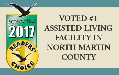 Jensen Dunes Voted #1 Assisted Living Facility in North Martin County