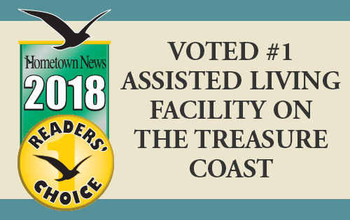 Jensen Dunes Voted #1 Assisted Living Facility on the Treasure Coast
