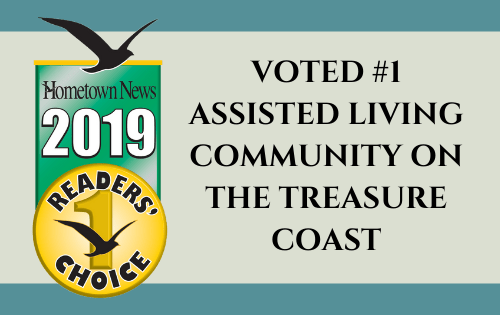 The Cabana at Jensen Dunes Voted #1 Assisted Living Community on the Treasure Coast