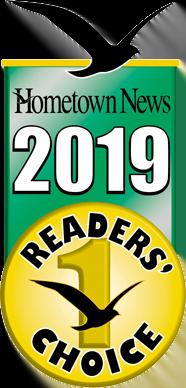 Hometown News Readers Choice: Winner 2019
